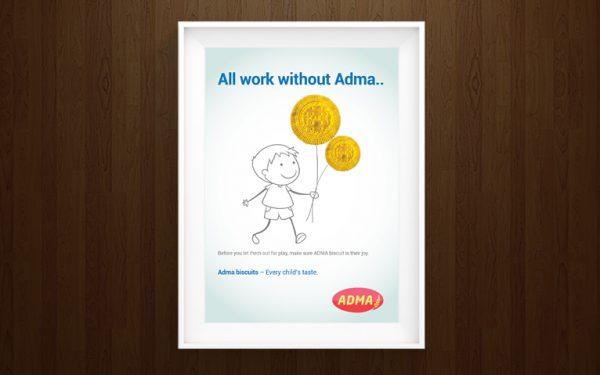 Adma Kids Biscuits Campaign