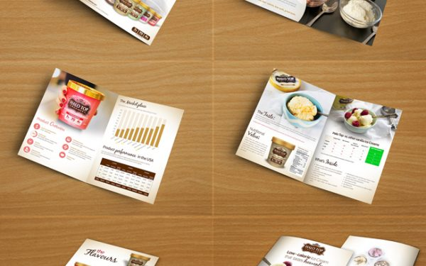 Halo Top Ice cream Brochure